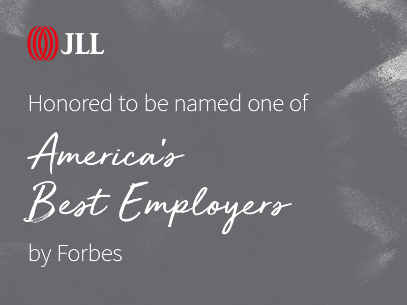 JLL one of America's Best Employers according to Forbes