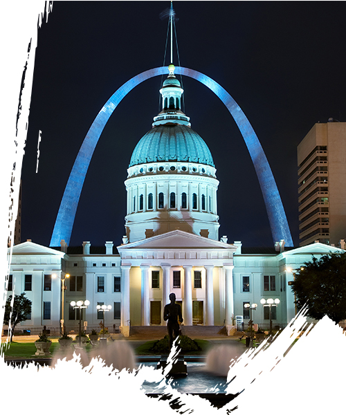 St.louis gateway arch courthouse