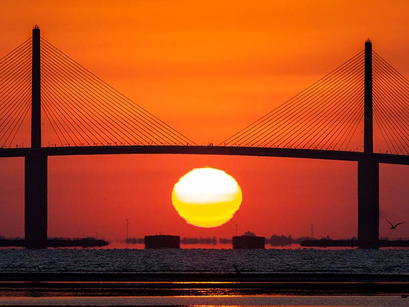 skyway bridge Tampabay
