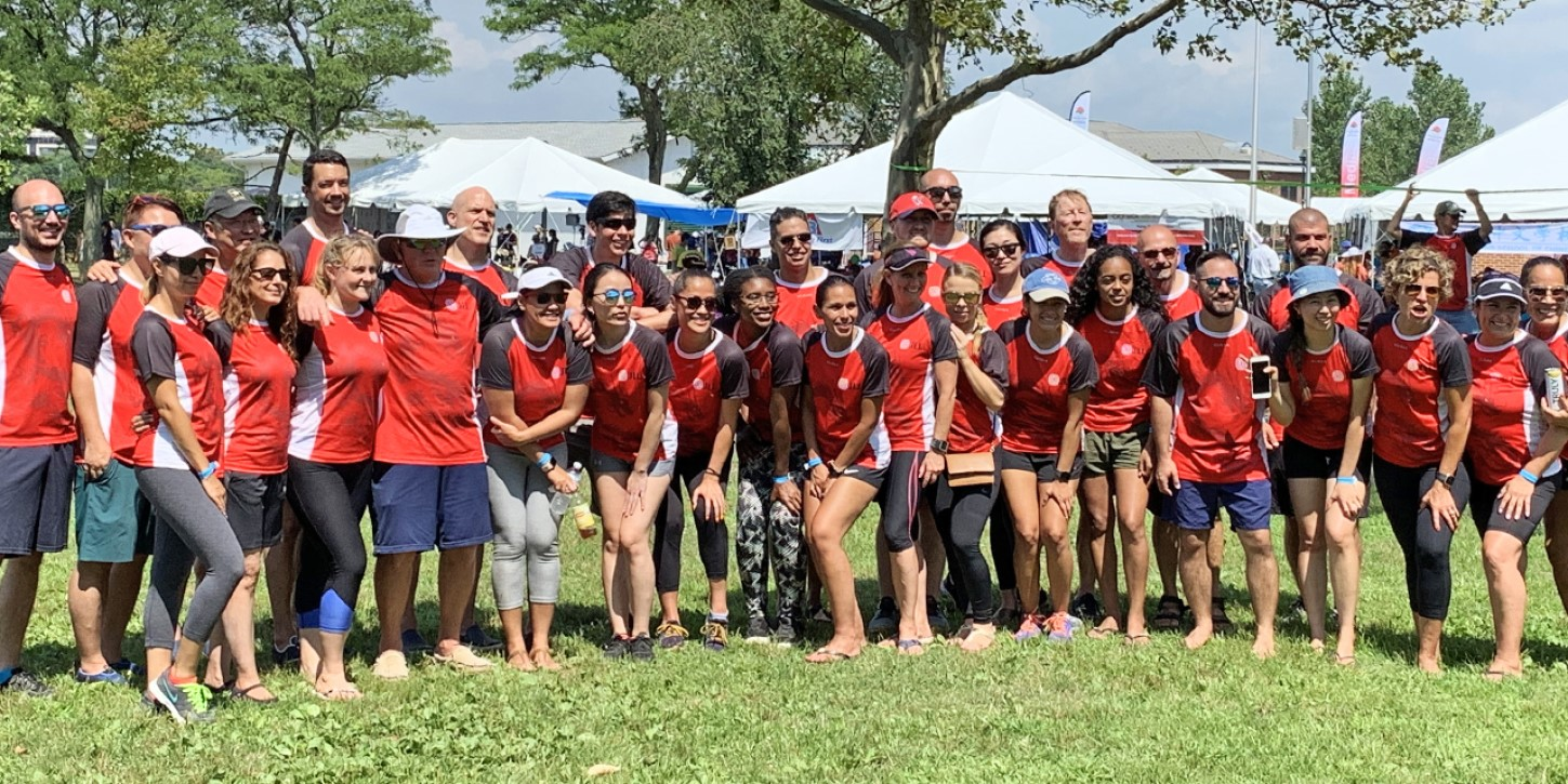 ABPN and JLL PDS have multiple teams at the Hong Kong Dragon Boat Festival in Flushing Meadows, Queens, New York.