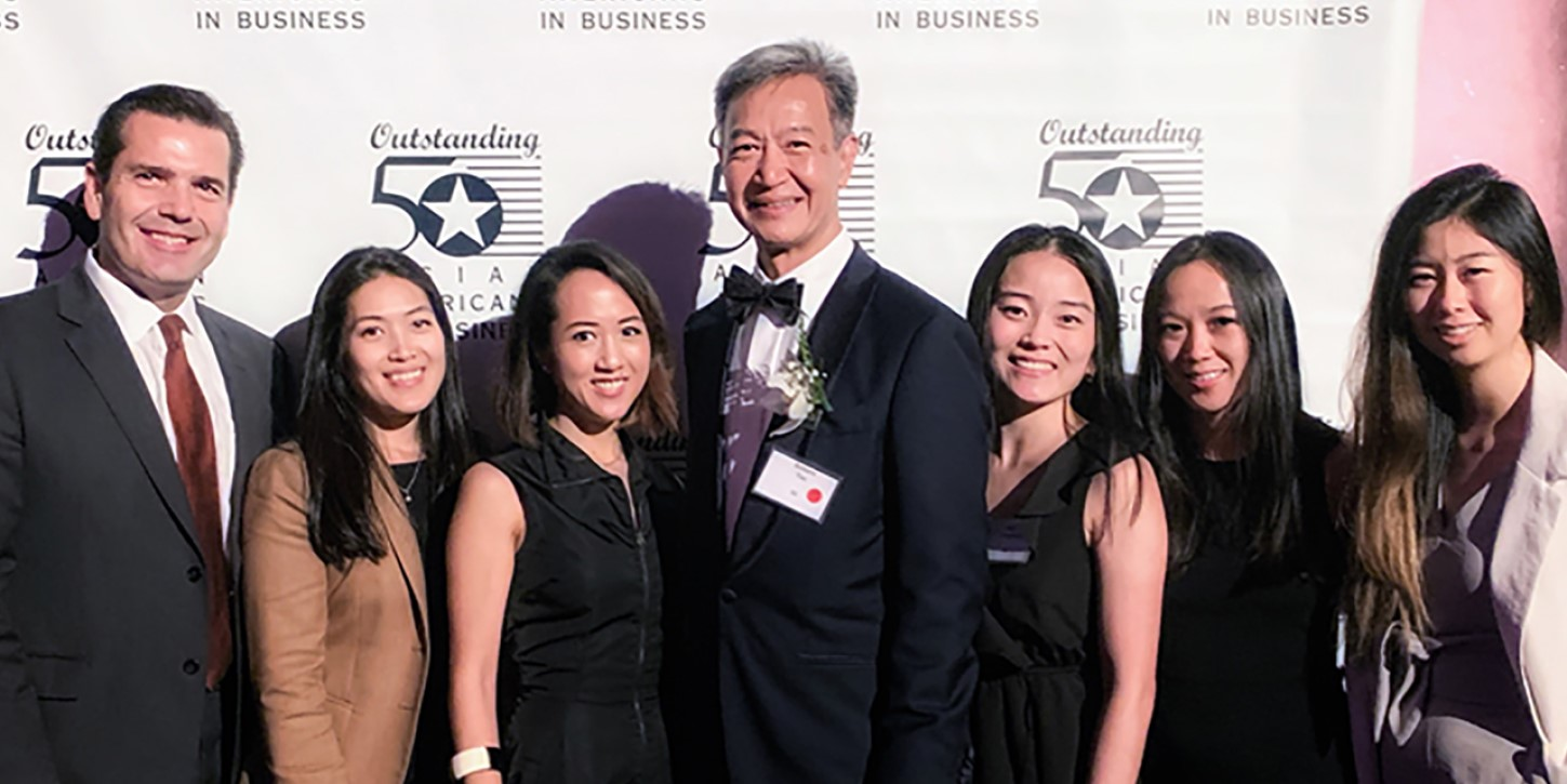Richard Tan, Account Director and ABPN Houston chapter co-chair, honored as 2019 Outstanding 50 Asian Americans in Business by the Asian American Business Development Center.