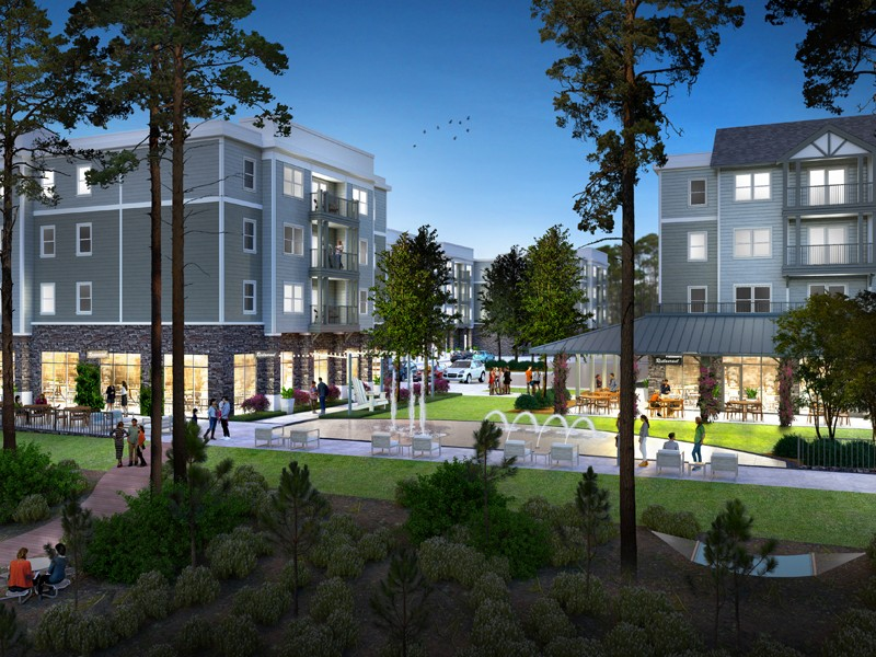 Dockside Clemson to-be-built student housing development
