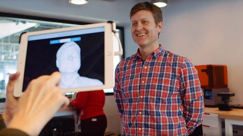 Microsoft employees play with 3D printing in The Garage