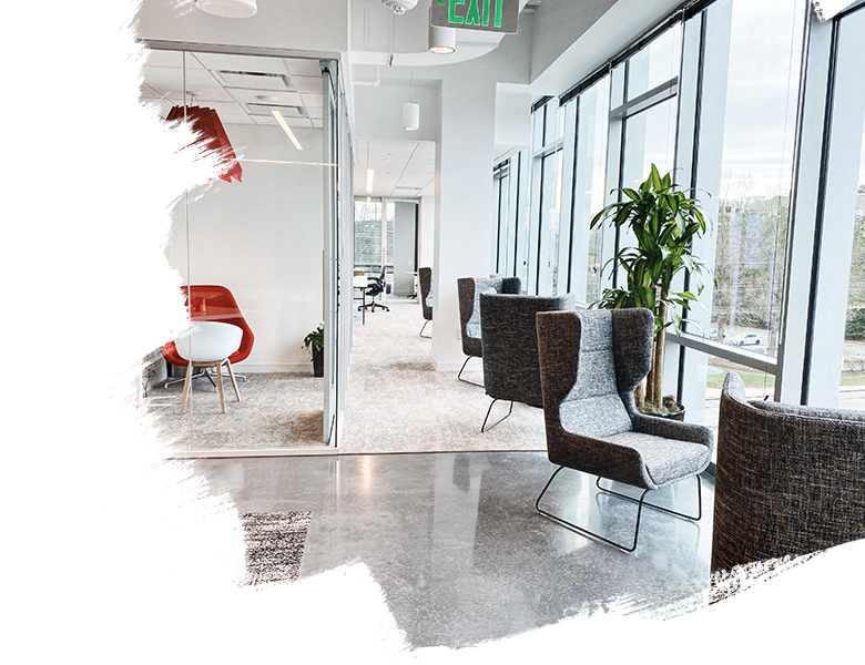 The new JLL Raleigh office